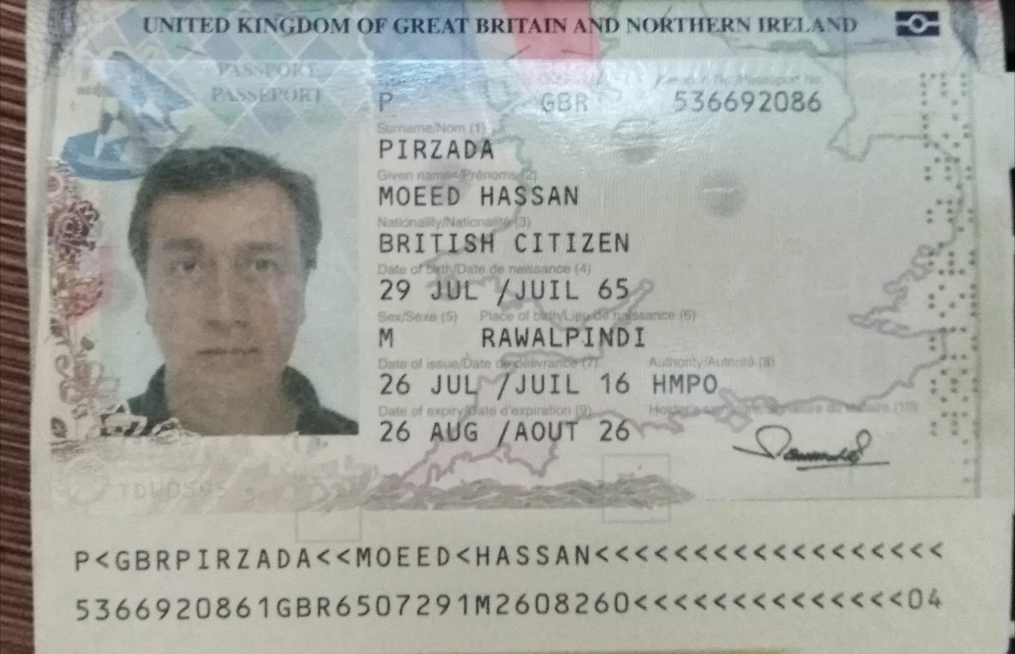 track my british passport application