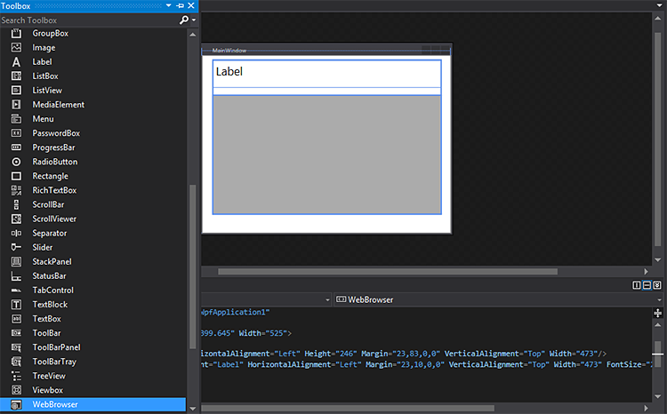 what is wpf browser application