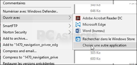 application pour ouvrir les pdf
