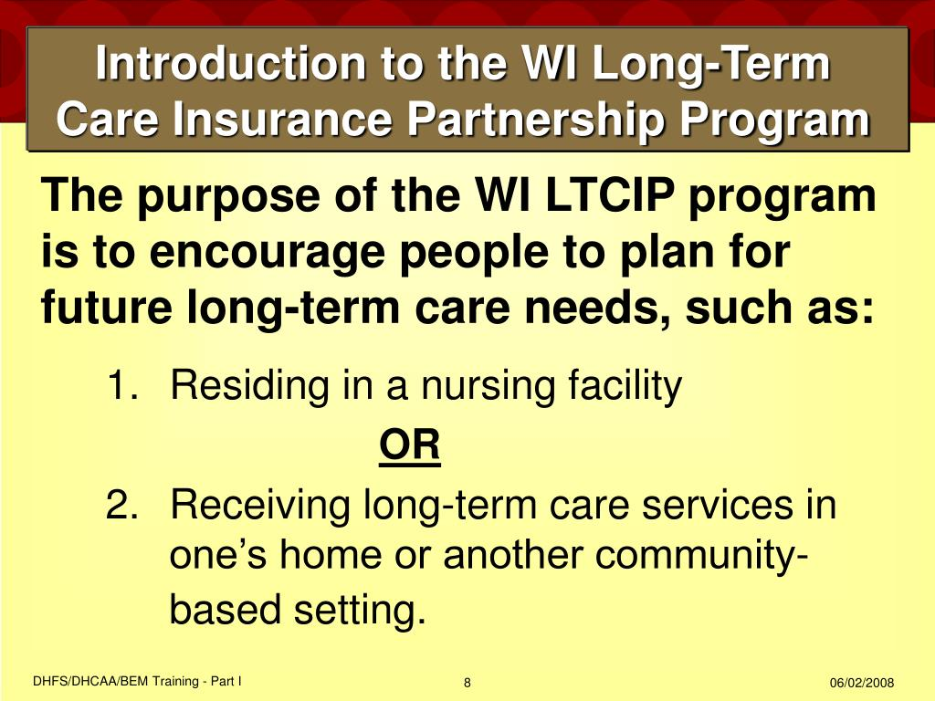 medicaid long term care application