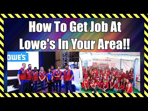www lowes com job application