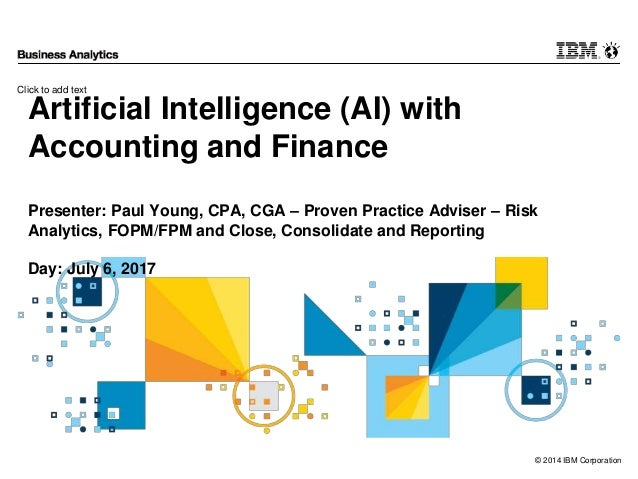 application of artificial intelligence in finance