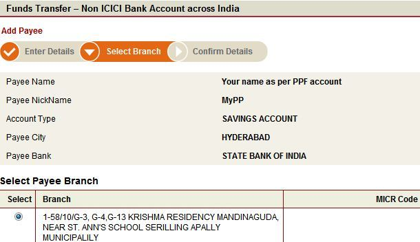 icici personal loan application status