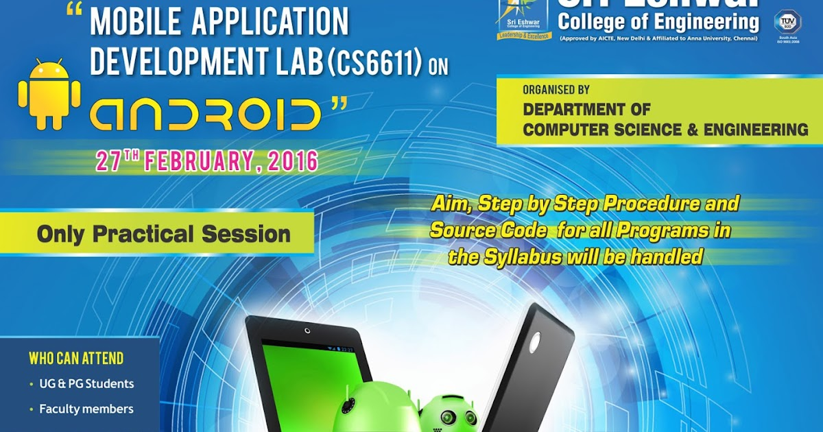 mobile application development lambton college