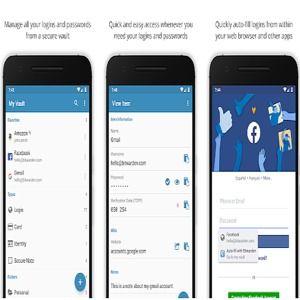 mot de passe application android