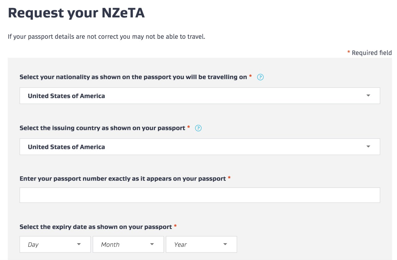 new zealand visa application form