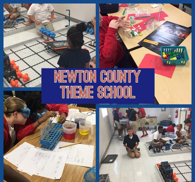 newton county theme school application