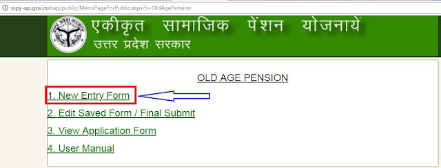 old age security pension application form