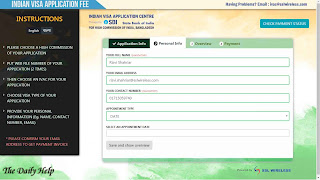 online indian visa application from bangladesh