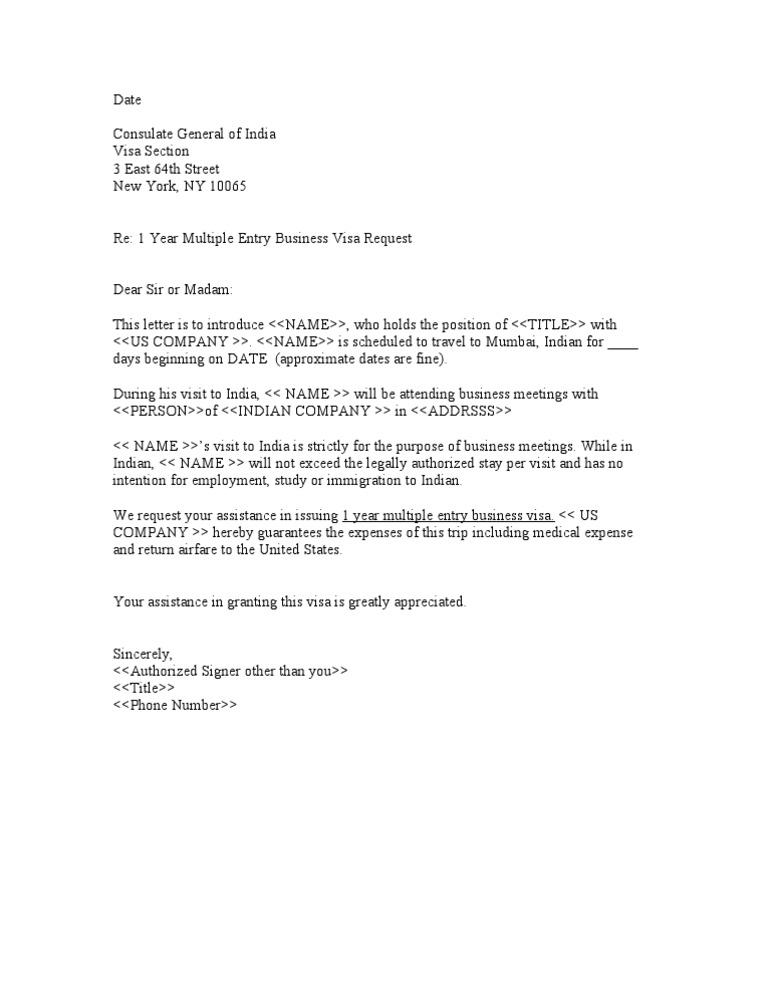 sample letter of support for visa application