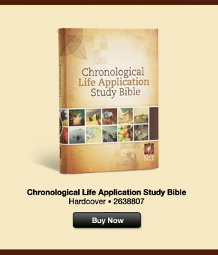 the chronological life application study bible