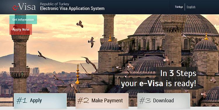 turkey tourist visa application form