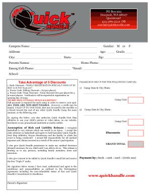 ucc summer camp job application