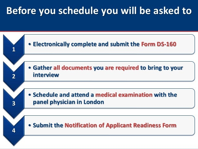 us visa application schedule appointment