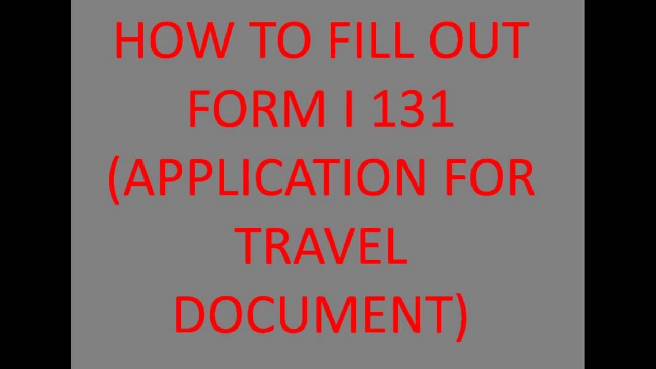 www travel document application form