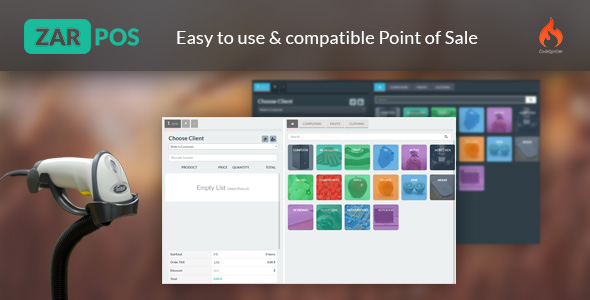 zar pos point of sale web application nulled